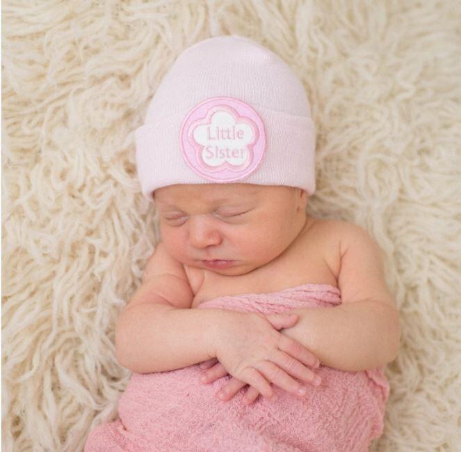 ILYBEAN Pink Little Sister Beanie