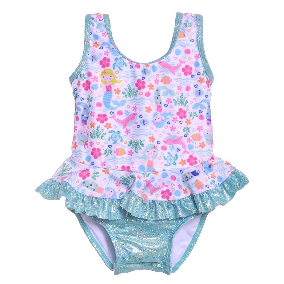 Flap Happy Stella Swimsuit - Mermaid Lagoon