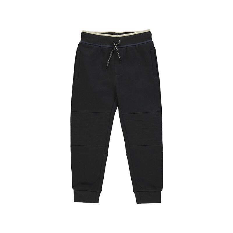 Mayoral Boys Black Knit Jogger Pants 4571