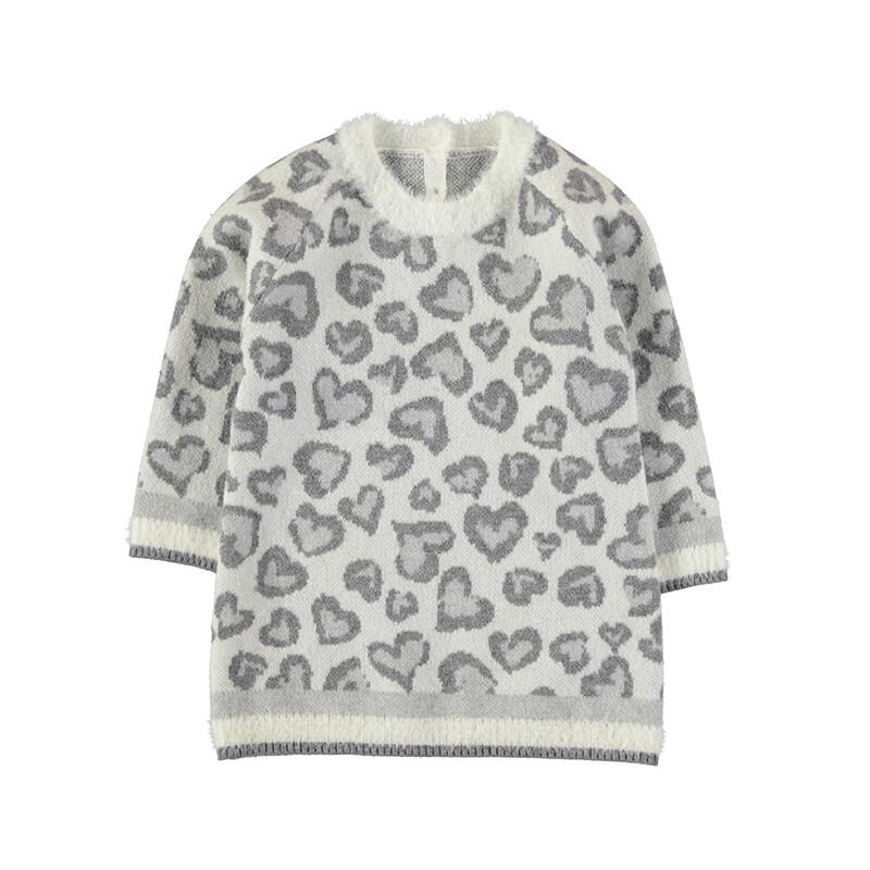 Mayoral Baby Girl Natural Knit Dress 2924
