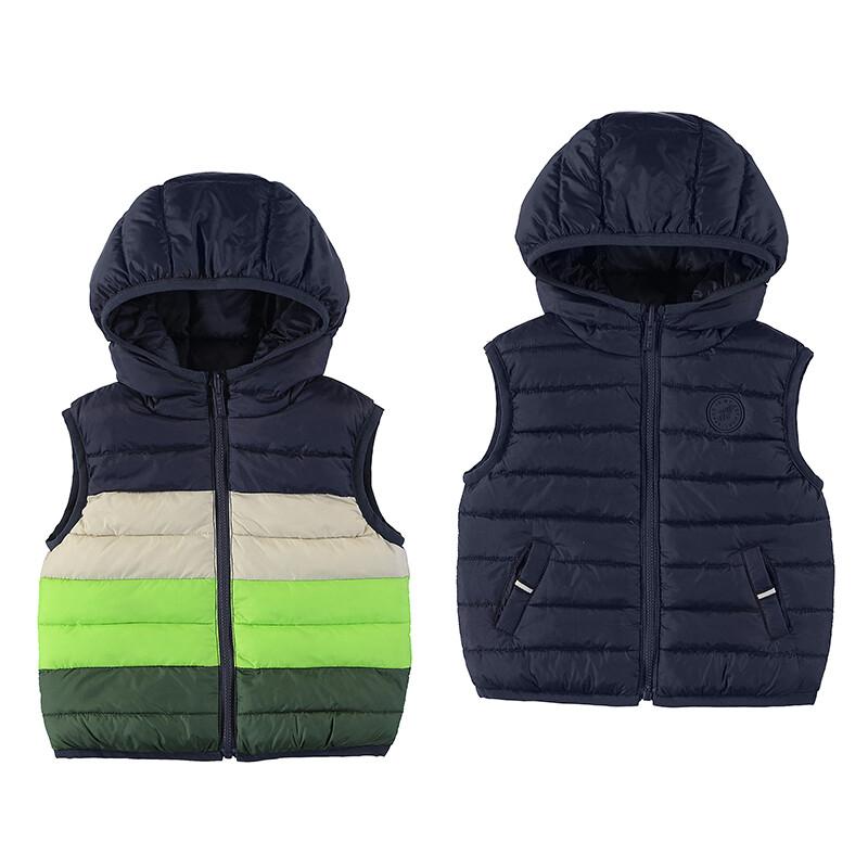 Mayoral Baby Boy Apple Padded Reversible Vest 2380