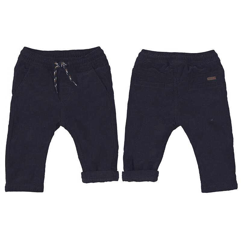 Mayoral Baby Boy Charcoal Micro-cord Pants 2531