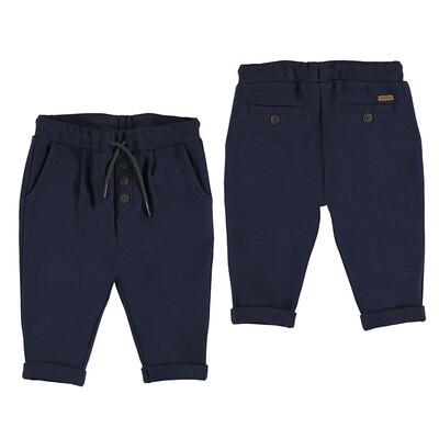 Mayoral Baby Boy Blue Knit Pants 2536