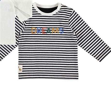 Mayoral Baby Boy Stripe Dreams L/S Shirt 2074