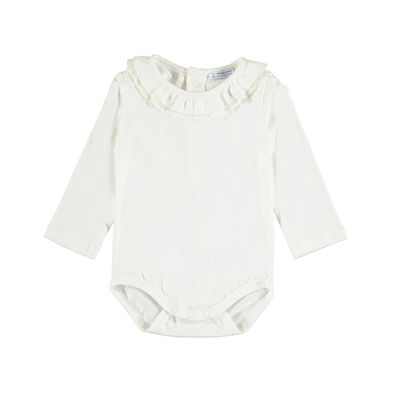 Mayoral Baby Girl Natural Basic Bodysuit 125