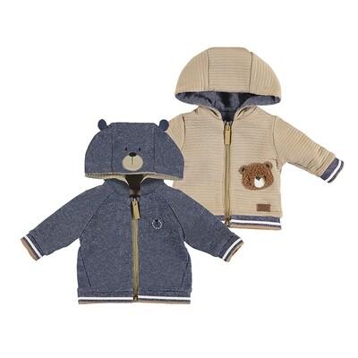 Mayoral Baby Boy Blue Reversible Hoodie 2409
