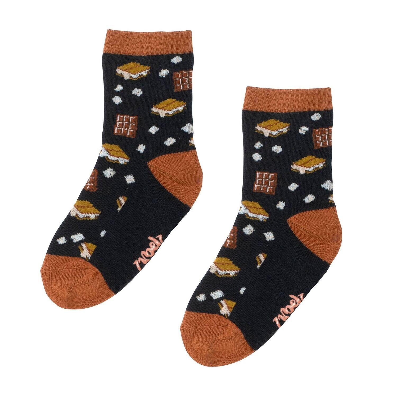 DeuxParDeux Boys Choco-Marshmellow Socks US1