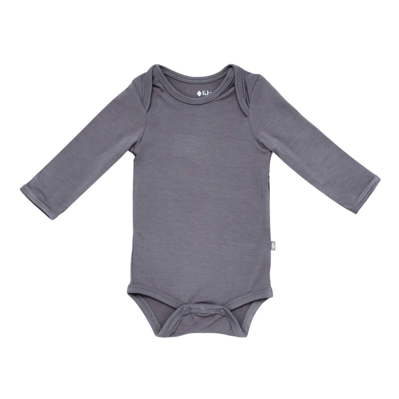 Kyte Bodysuit L/S In Charcoal