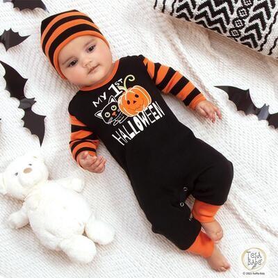 Tesa Babe Orange/Black Stripe (My 1st Halloween)