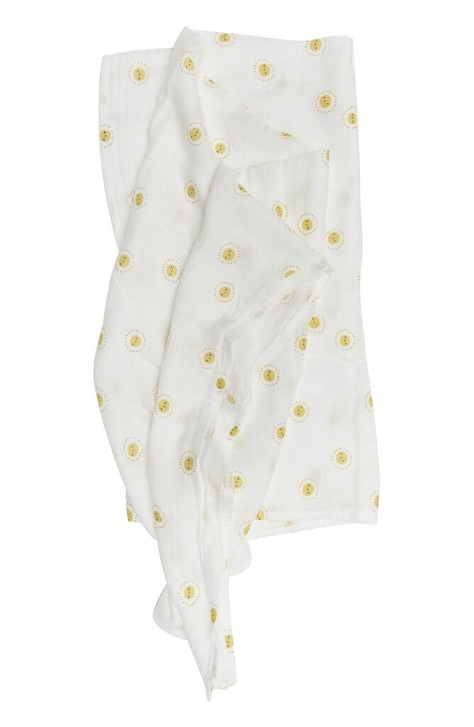 Loulou Lollipop Muslin Swaddle- Rise and Shine780