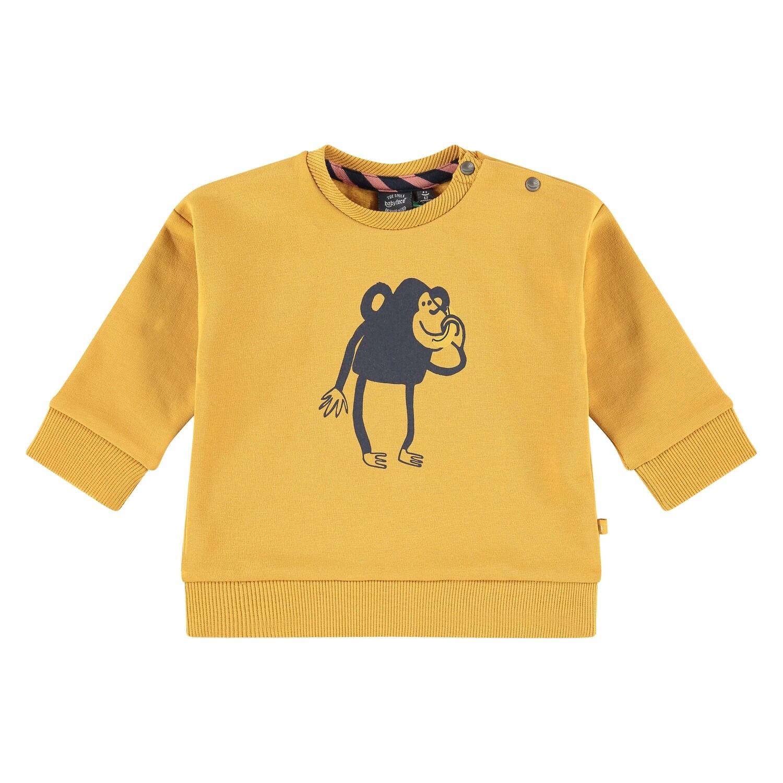 Babyface Baby Boy Mustard Sweatshirt 01