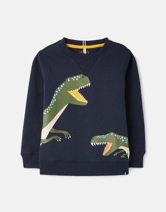 Joules Boys Ventura Navy Dino Shirt 161
