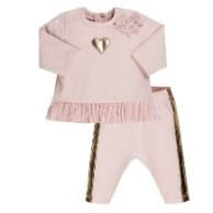 EMC B-Girl Pink W/Gold Heart 2-Pc Set 2876