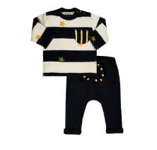 EMC B-Boy Striped 2-Pc Knit Set 2891