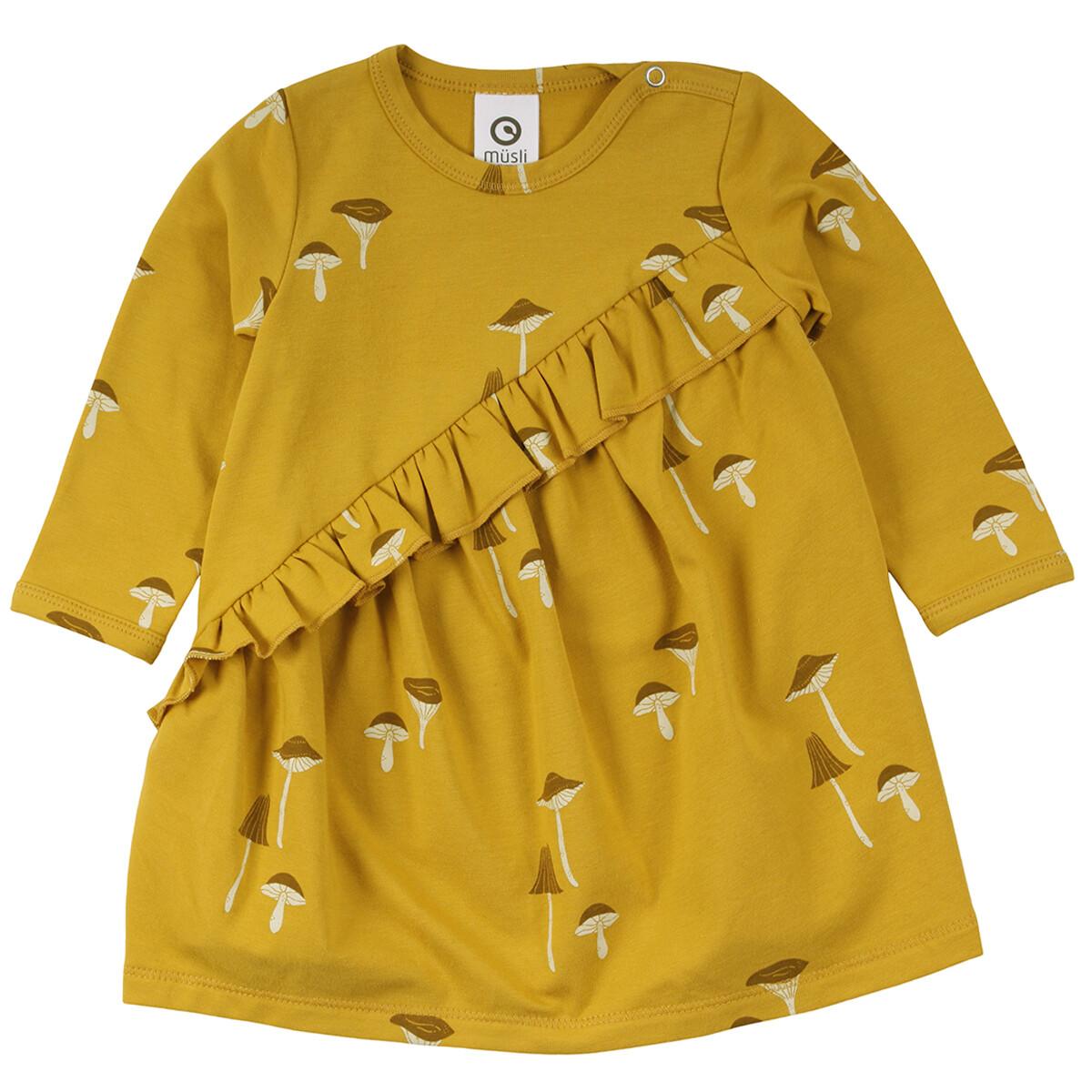 Musli Baby Girls Mustard Chanterelle Dress