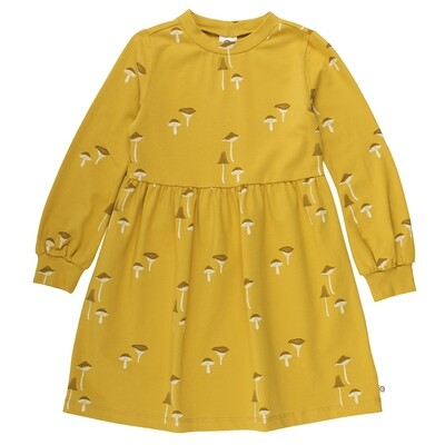 Musli Girls Mustard Chanterelle Dress