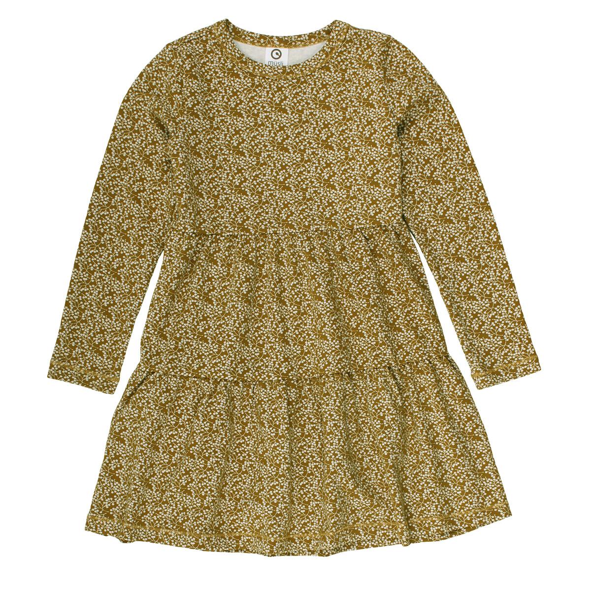 Musli Girls Pesto Petit Fleur Dress