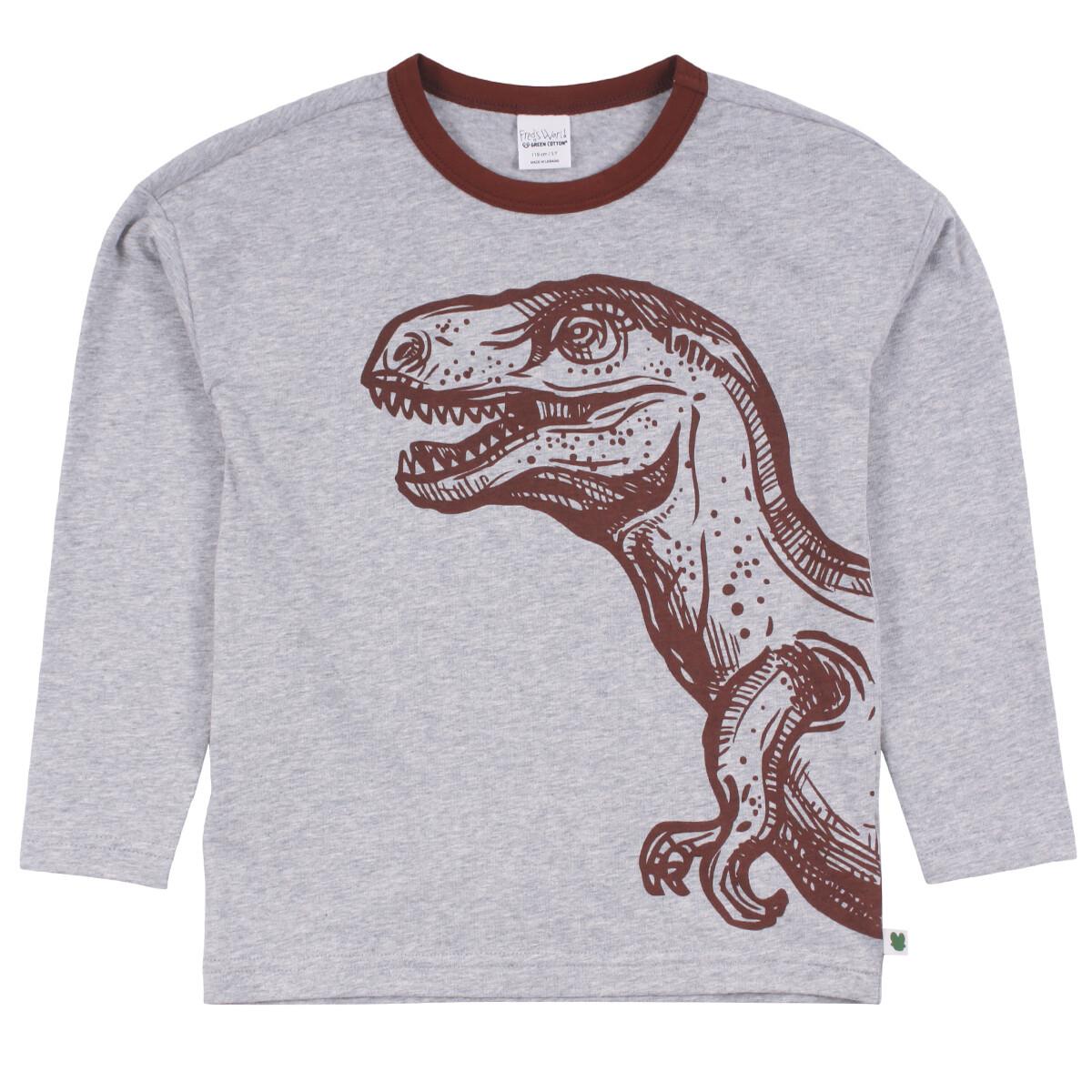 Fred's World Boys Dino Drop Grey Shirt