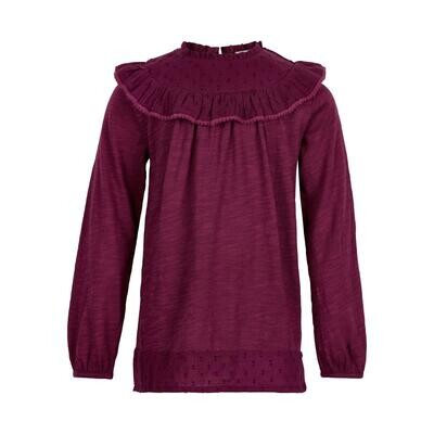 Minymo Girls Rhododendron L/S Top 121559