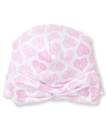 Kissy Pink Heart to Heart Hat 77N
