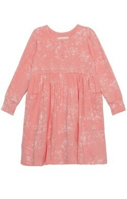 Mabel & Honey Pink Knit Dress 5067