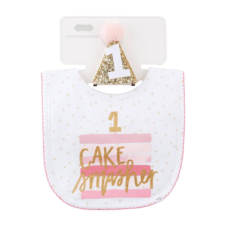 Mud Pie Girl Cake Smashing Set