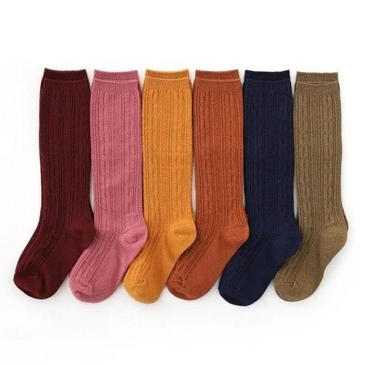 Little Stocking Cable Knit Socks