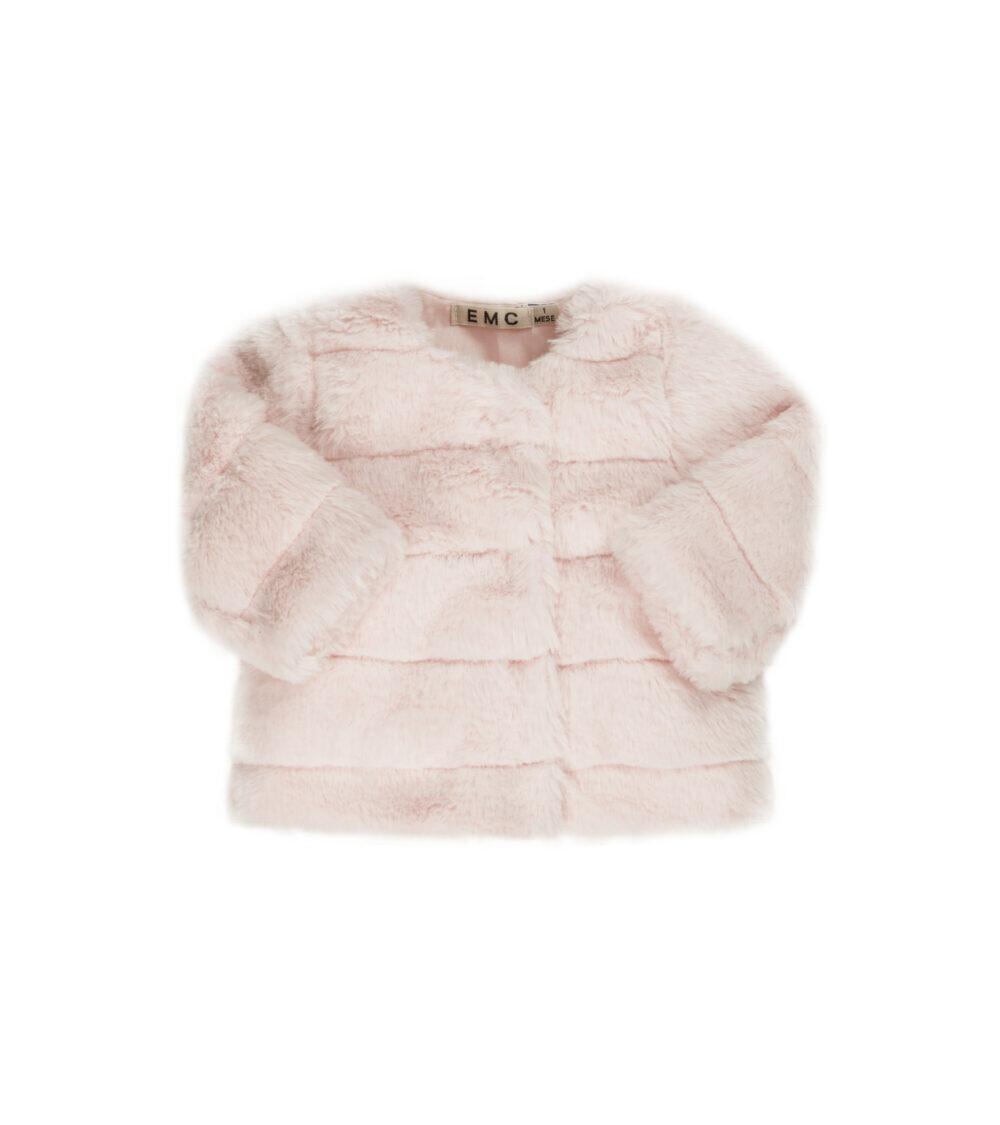 EMC Fake Fur Jacket Pink 1152