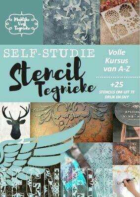 STENCIL TEGNIEKE SELF STUDIE