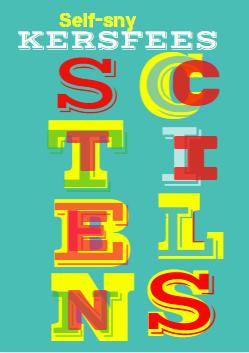 SELF-SNY STENCIL ALBUM: KERSFEES