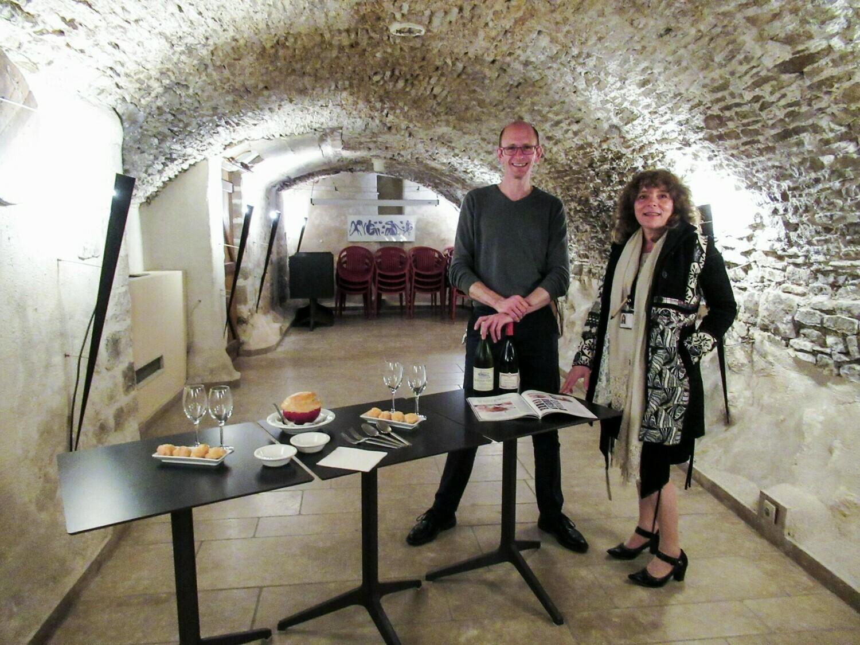 Visite avec initiation gustative : Vézelay à Savourer des yeux et des papilles (uniquement sur certaines dates)