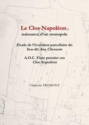 Fixin 1er cru Clos Napoléon