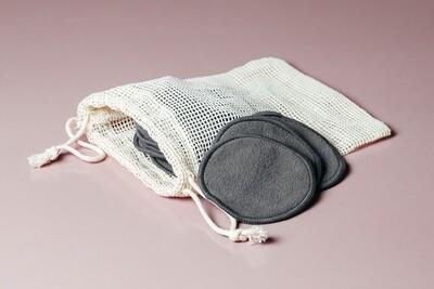 Многоразовые диски для снятия макияжа (набор из 12 шт)