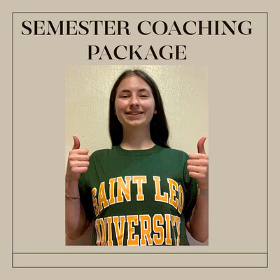 Student Fall Semester Coaching Package