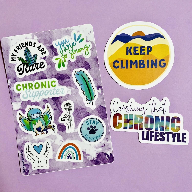Stickers: Trio Supporter