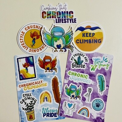 Complete Sticker Pack