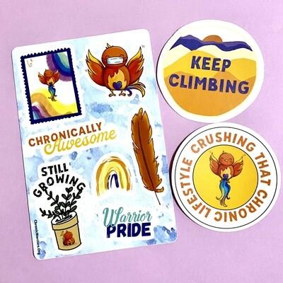 Sticker Pack: Ember