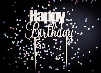 Happy Birthday - Caketopper