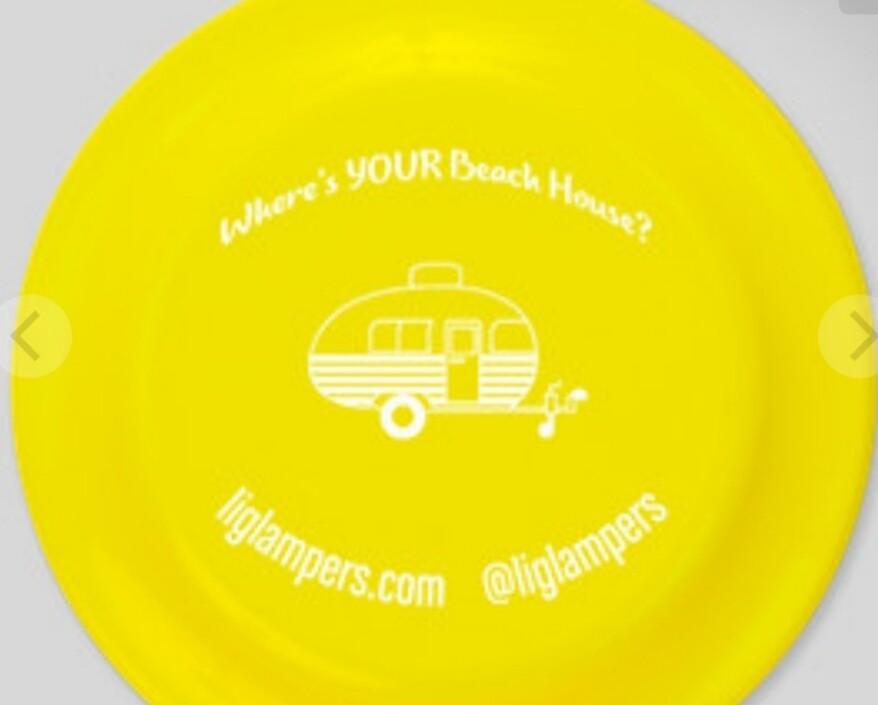 LI Glampers Frisbee