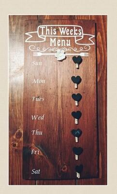 Handmade Menu Board