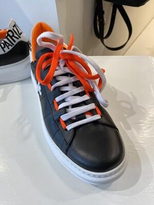Patrizia Pepe Pepe black/orange shoes