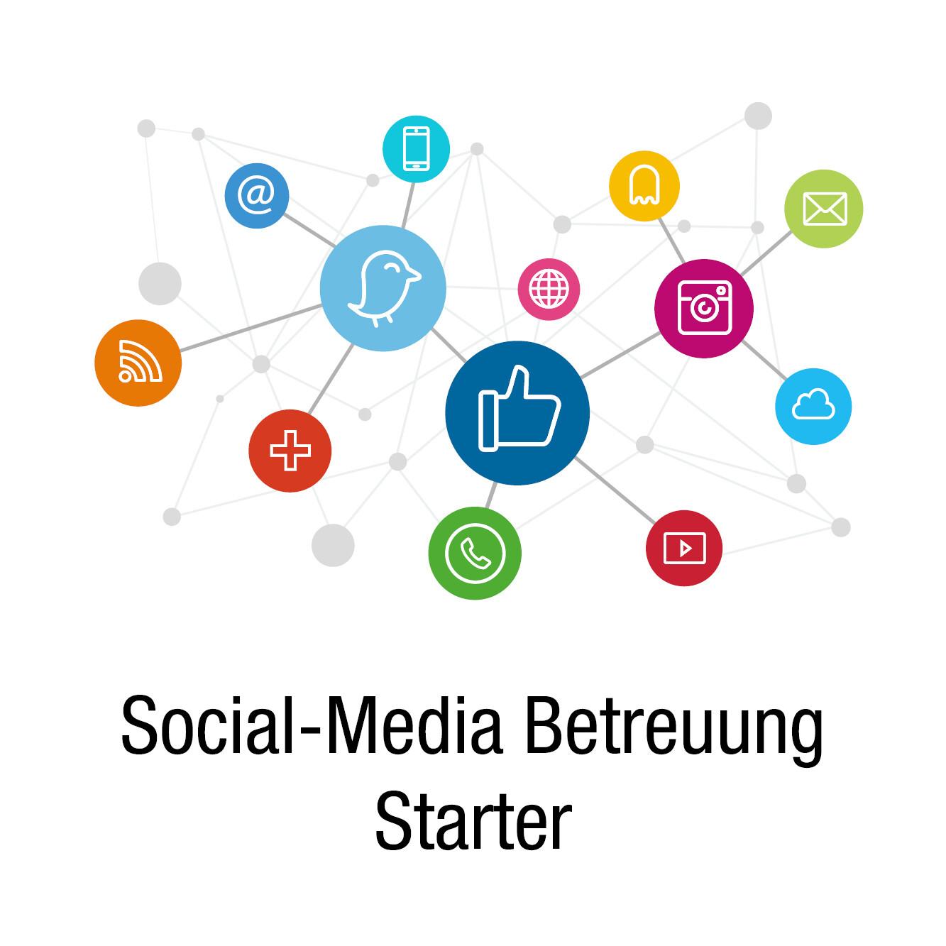 Social Media Betreuung Starter