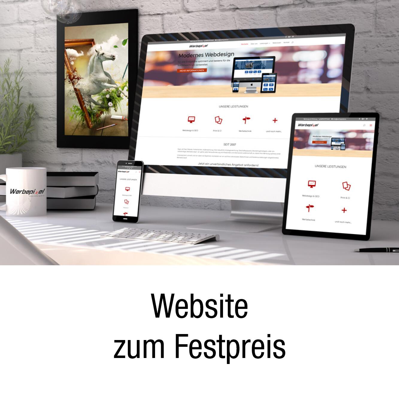 Professionelle Homepage / Website zum Festpreis