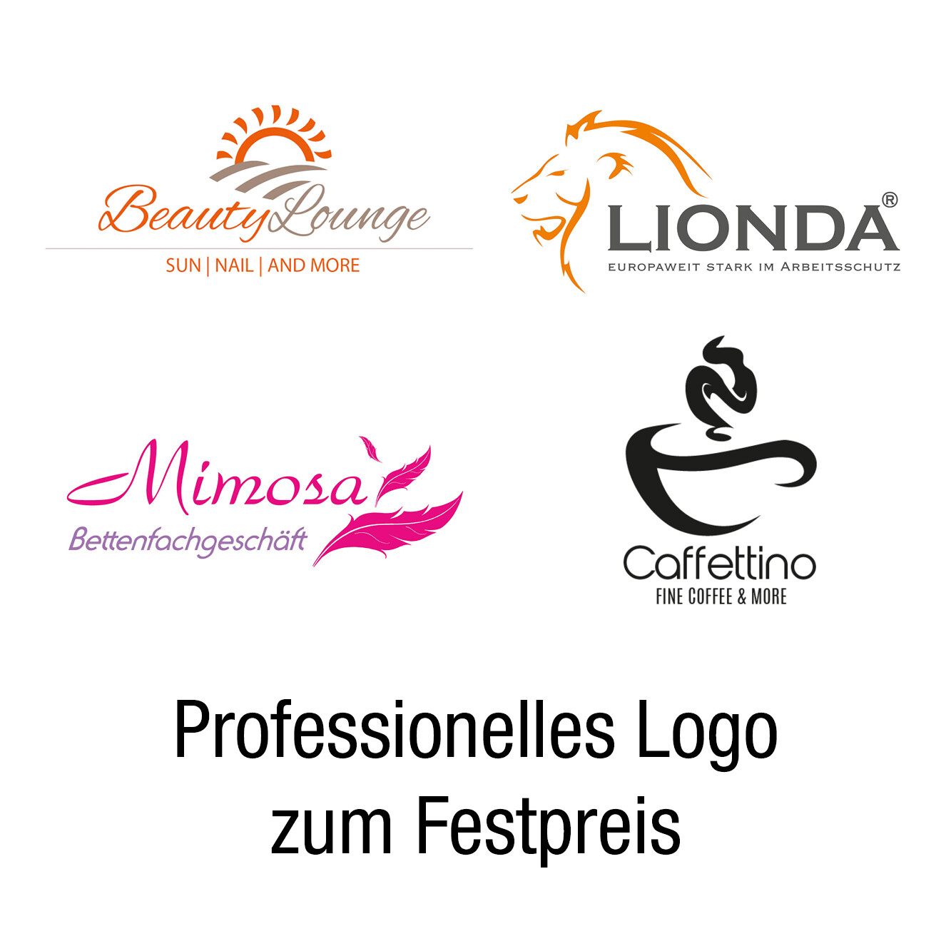Professionelles Logo zum Festpreis