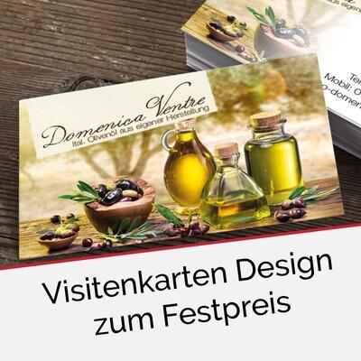 Visitenkarten-Design zum Festpreis