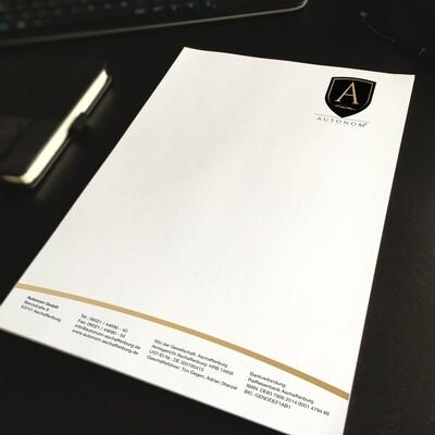 Briefpapier DIN A4