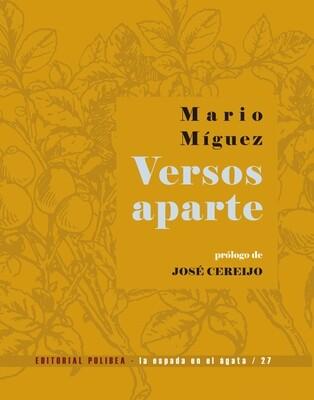 Versos aparte / Mario Míguez