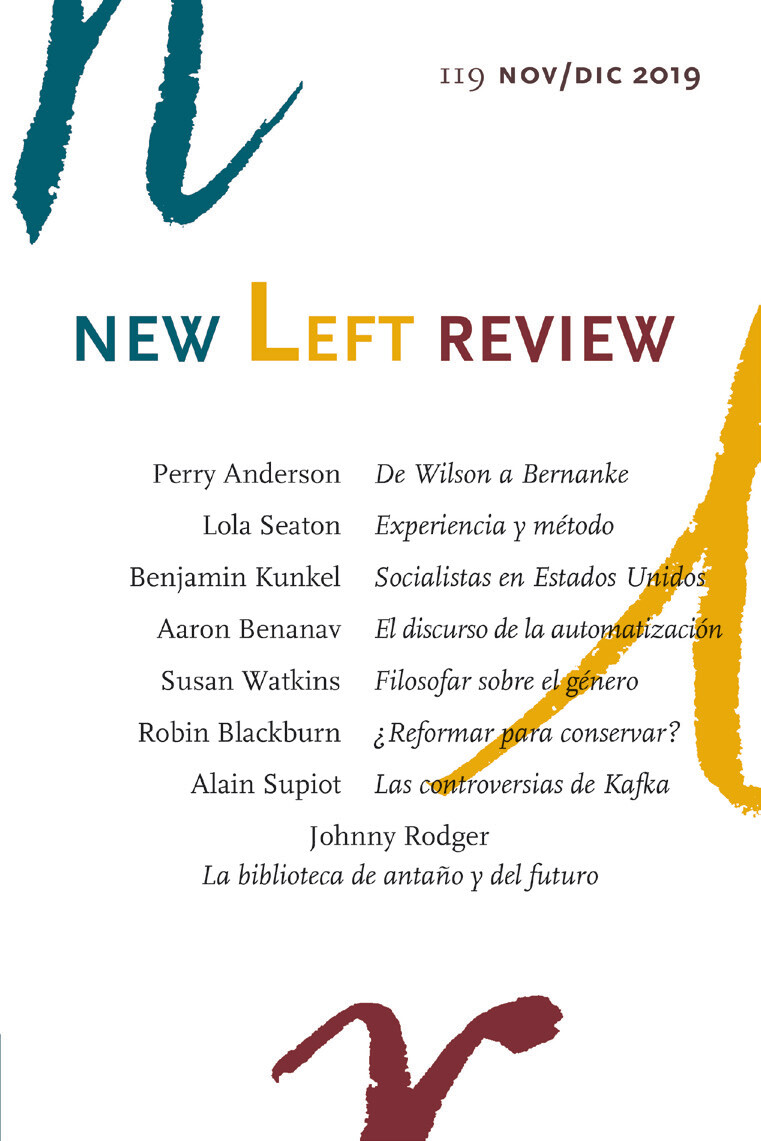 New Left review 119