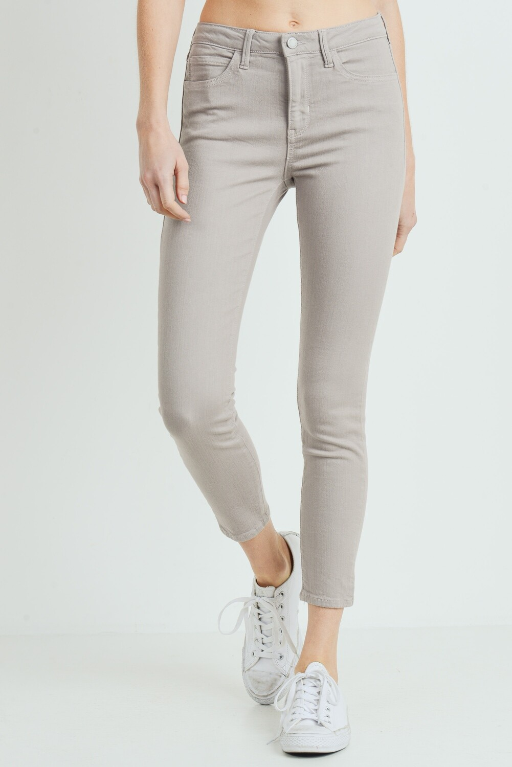 Basic Dusty Stone Skinny
