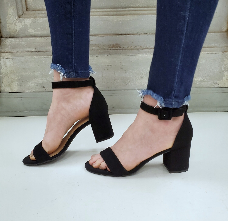 Cake Black Dress Heel